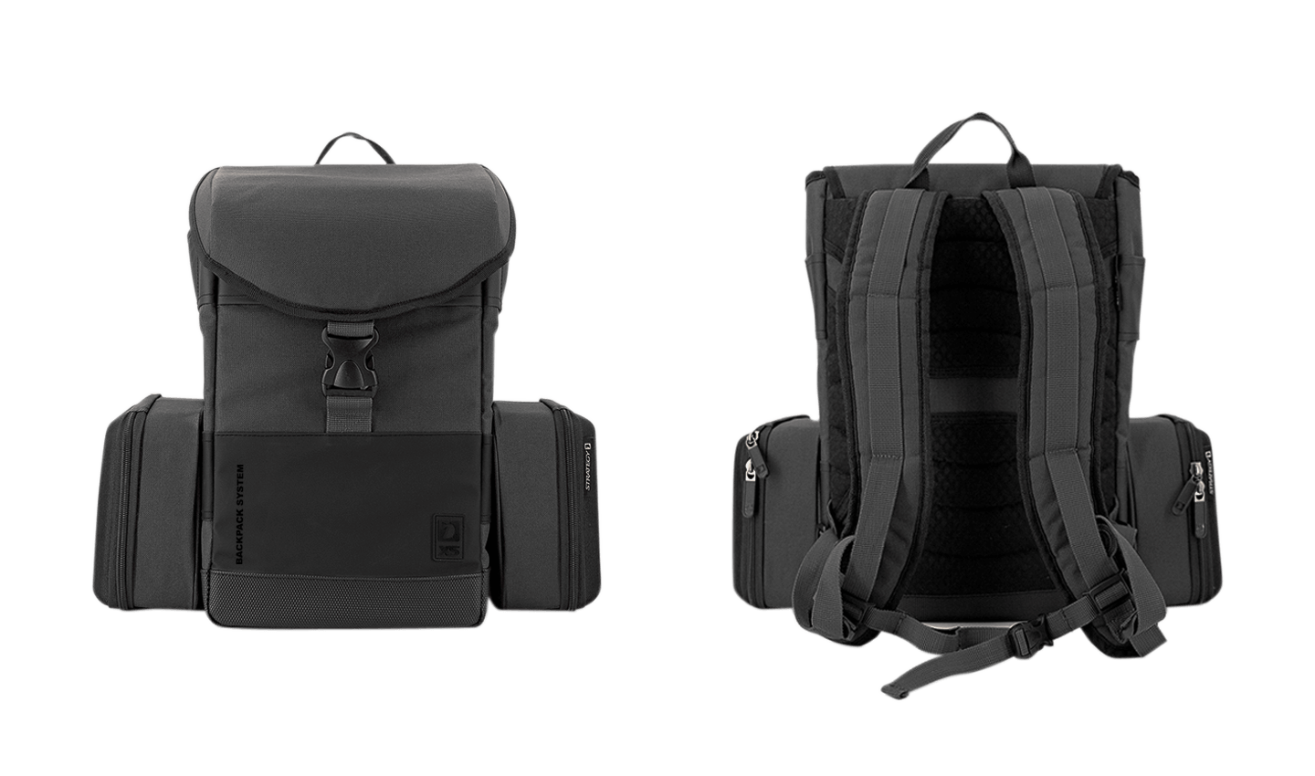 XS System Backpack - Front- & Rückseite 02